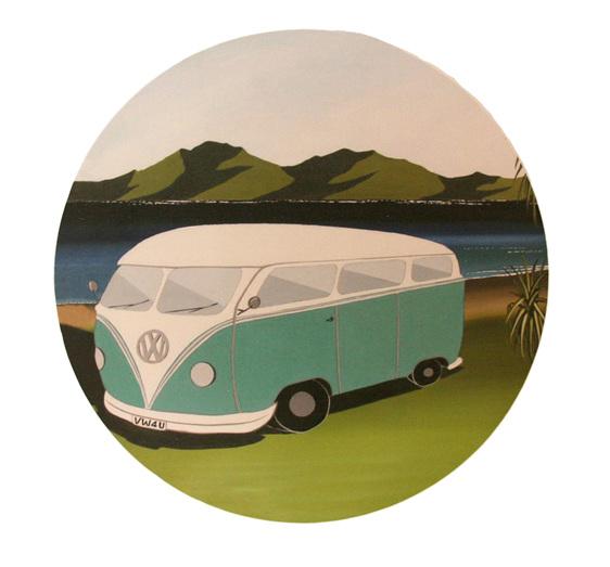 A VW Kombi by Debbie Morgan.