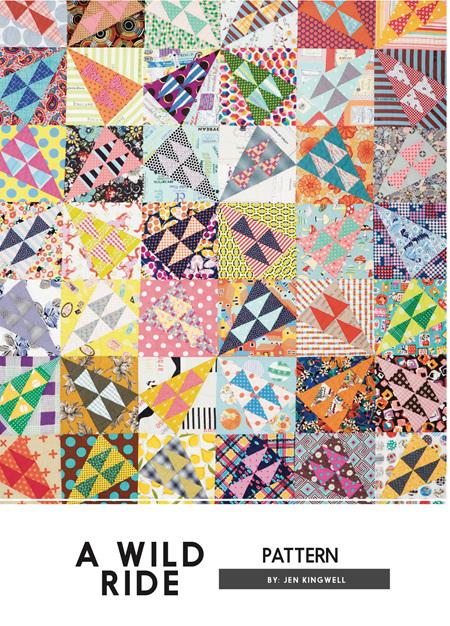 A Wild Ride Quilt Pattern