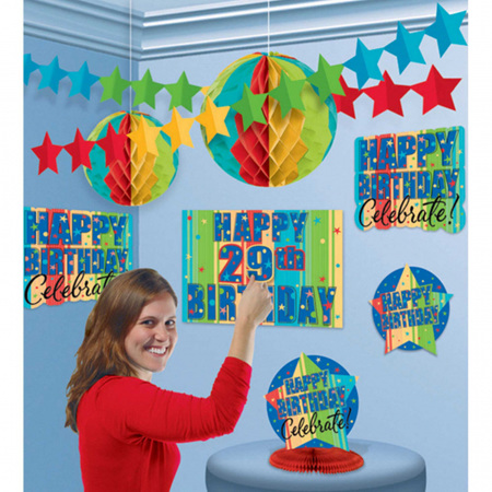 A Year to celebrate - customise your year! room decorating kit