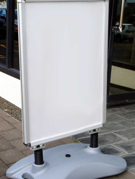 A1 Double Sided Snap Footpath Frame