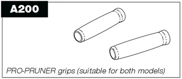 A200 Grips (pair) for P100 & P50 Pro-Pruner