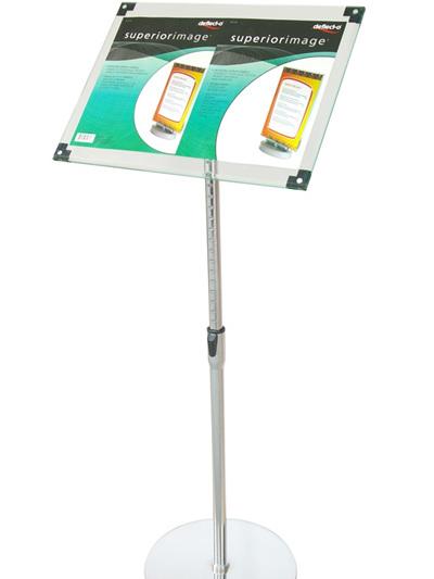A3 Acrylic Floor Stand