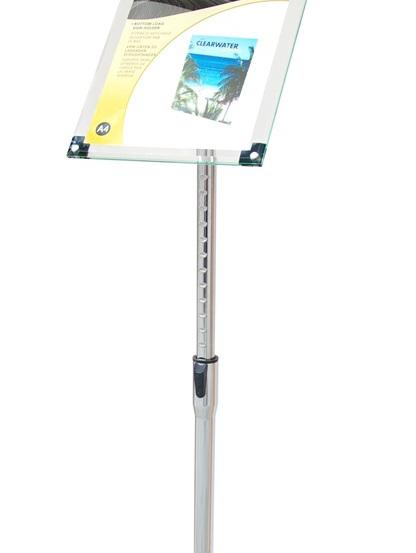 A4 Acrylic Floor Stand