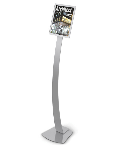A4 Acrylic Sign Holder Floor Stand 693245