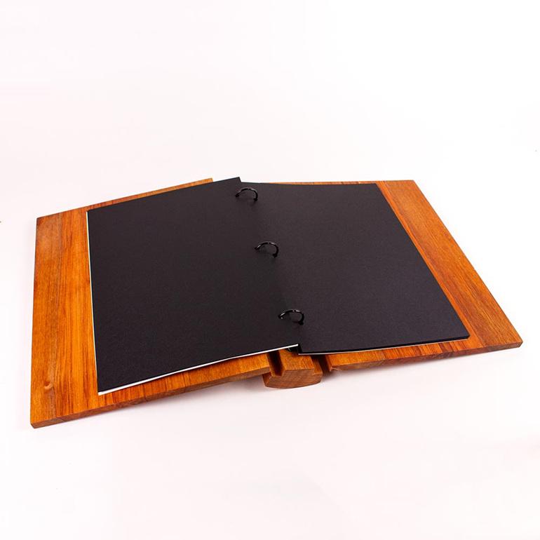 A4 album - black pages