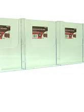 A4 Brochure Holder 39540 Wall Mounting (Flat Back)
