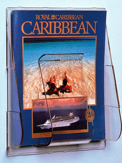 A4 Brochure Holder - Single Pocket