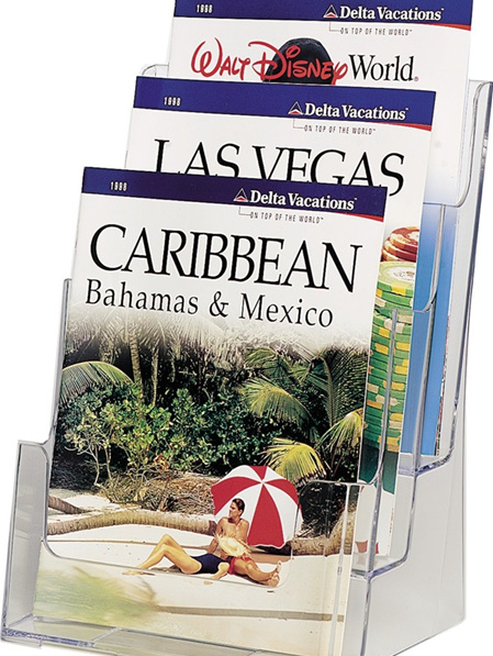 A4 Brochure Holders - Multi Pocket 77301
