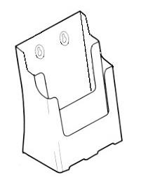 A4 Brochure Holders - Multi Pocket 77865