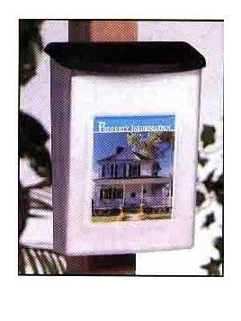 A4 Outdoor Brochure Holder Weatherproof Waterproof 790901