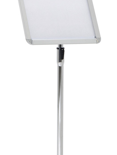 A4 Snap frame Floor Stand, Round corner, Wide profile 83104