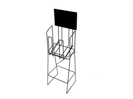 A4 Wire Brochure Stand  Portrait (Real Estate)