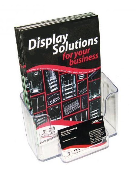 A5 Brochure Holder with B/C Holder 74911