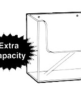 A5 Brochure Holders Extra Capacity Free Standing 39232