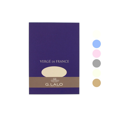 G.Lalo Verge de France writing pad A5