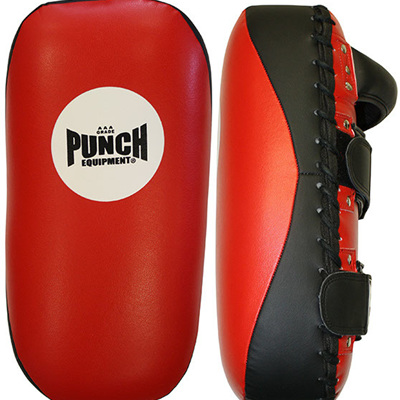 AAA Thai Pads Straight Black / Red