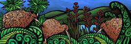 AB59 Art block large Kiwi