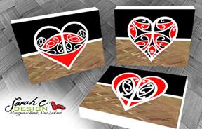 AB81 Three hearts