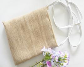 Abaca Sling Bags - beige/natural