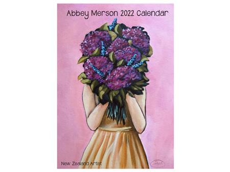 Abbey Merson 2022 Wall Calendar