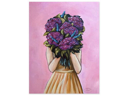 Abbey Merson Blooms Card