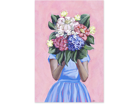 Abbey Merson Card Sweet Blooms