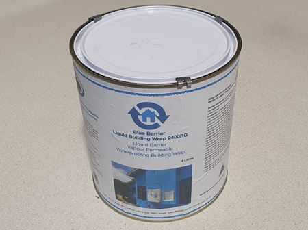 ABEP Blue Barrier Flash 'N' Wrap RG 2400 4 litre pail