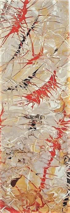 Aboriginal Art Bookmark - Dancing Bird Spirits