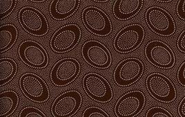Aboriginal Dots Chocolate