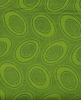 Aboriginal Dots Leaf