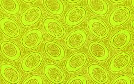 Aboriginal Dots Lime