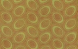 Aboriginal Dots Olive