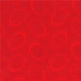 Aboriginal Dots Orange