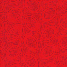 Aboriginal Dots Red