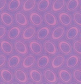 Aboriginal Dots Wisteria