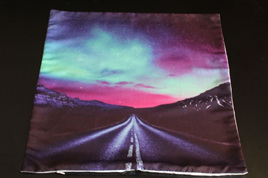 Above the Road Night Skies Cushion Cover
