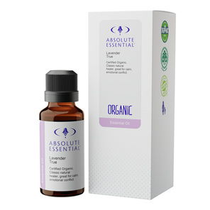 Absolute Essential Lav True Oil Org 25Ml