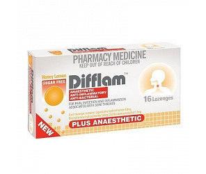 Absolute Essentialfflam Plus Anaesthetic Lozenges  Honey  Lemon 16