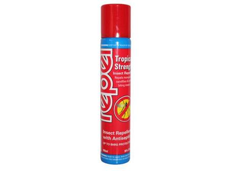 Absolute Essentialpel Nz Repel Tropical Strength Aerosol Spray 100Ml