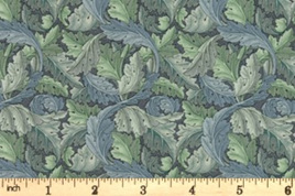 Acanthus 7304 18 Sea Foam