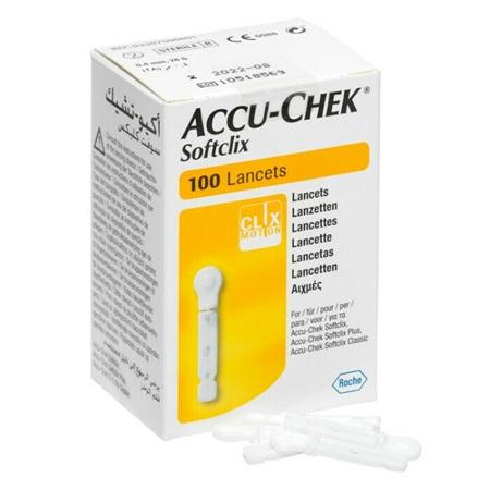 Accu-Chek Softclix 100 Lancets