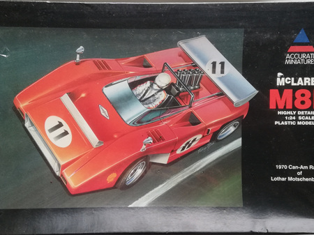 Accurate Miniatures 1/24 McLaren M8B 1970 Can-Am Racer