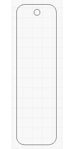 Acrylic Blank - Rectangle (rounded edges)