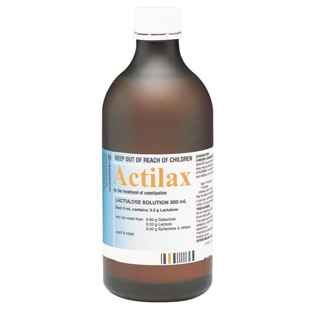 ACTILAX MIXTURE 500ML