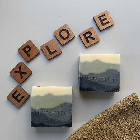 Activated Charcoal Mountains Bar