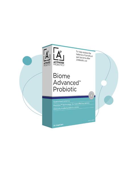 Activated Probiotics Biome Advanced Probiotic 30 Capsules