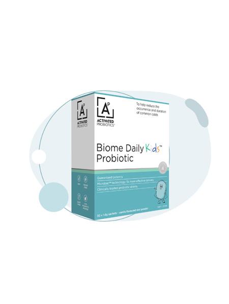 Activated Probiotics Biome Daily Kids Probiotic 30 Sachets