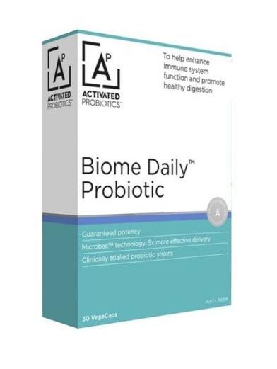 Activated Probiotics Biome Daily Probiotic 30 Capsules