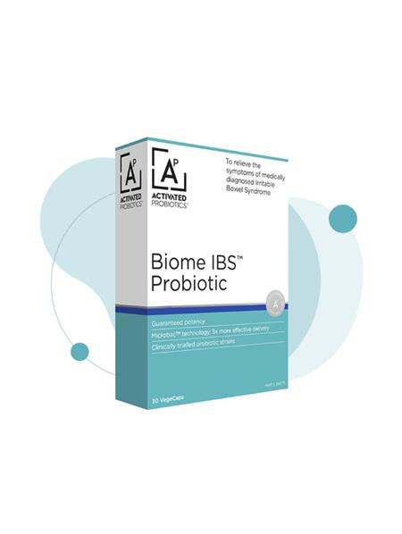 Activated Probiotics Biome IBS Probiotic 30 Capsules