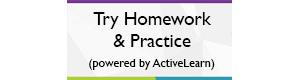ActiveLearn Digital Service - Try ActiveBook Homework & Practice